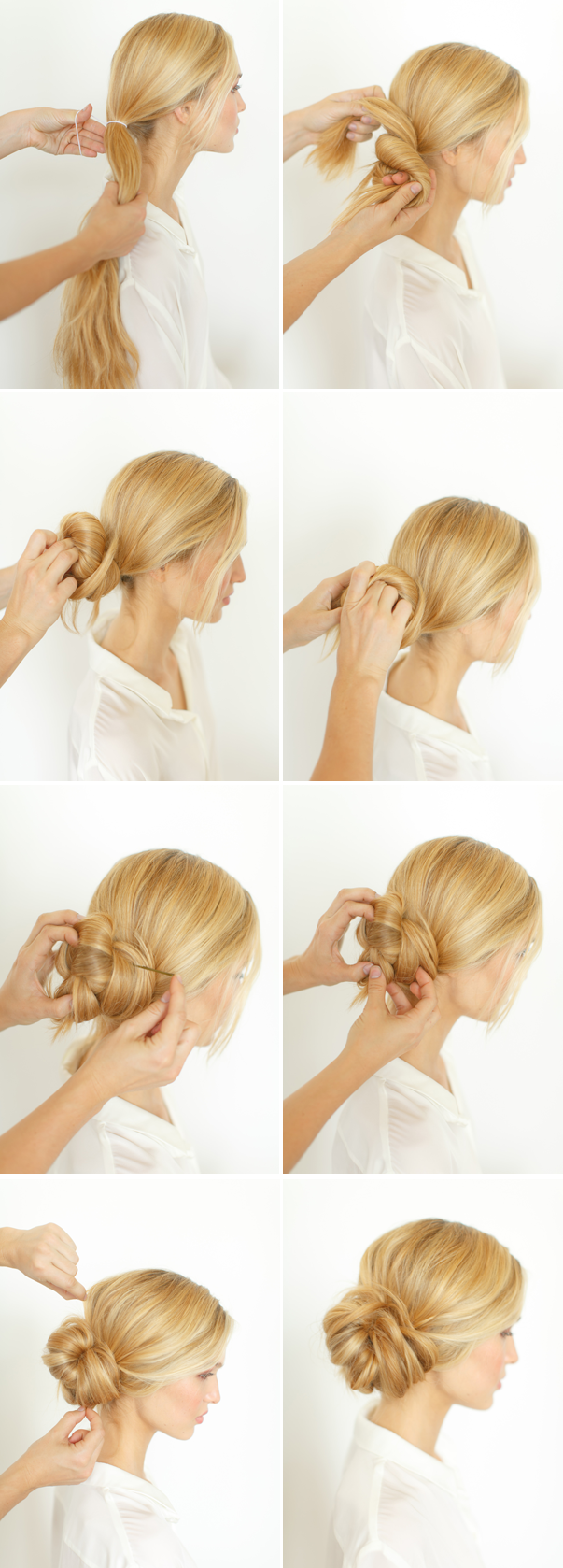 DIY- The Knotted Bun